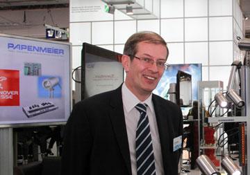 Armin Papenmeier 2013 at the Hannover trade fair