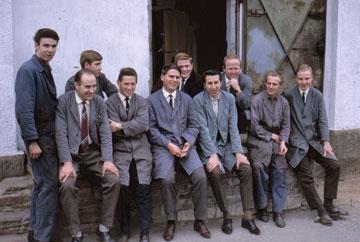 Papenmeier employees in April 1965