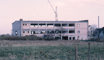 New building on Hoerder Strasse in Schwerte in the Summer of 1966
